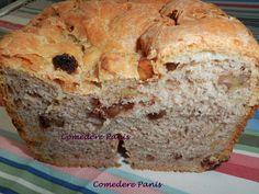 Comedere panis: Pan de nueces en panificadora