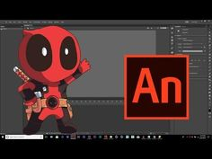 (2) Dead Pool - Adobe Animate CC- Making & Rigging Tutorial - YouTube