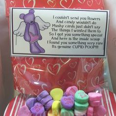 Perfect for coworkers or classmates...I might use valentine M instead though