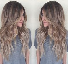 Dark Blonde Balayage by @hairby_chrissy