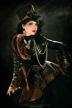 Steampunk High Fashion