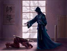 Asian Art Legend of the 5 Rings inspiration Goju Dojo - L5r