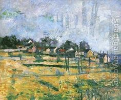 Paysage 2 Paul Cezanne Reproduction | 1st Art Gallery