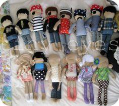 dee*construction: Make my Week #34 - Pirate Dolls