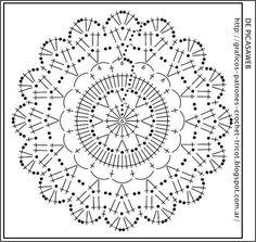 crochet fabric , CROCHET - GANCHILLO - PATRONES - GRAFICOS: GANCHILLO = VESTIDO TEJIDO A CROCHET CON SU PATRON