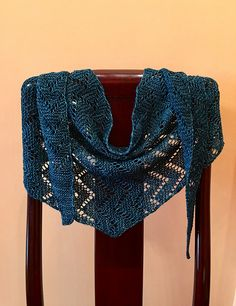 Miso by Ambah O'Brien, knitted by nancyhill11 | malabrigo Mechita in Teal Feather
