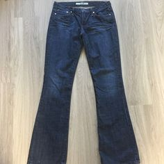 Joes Jeans Medium Dark Wash Jeans Joes Jeans Medium Dark Wash. Size: 28 with 32 inch inseam. In good condition! Only wear is very slight on the hem. Please see pictures. Thank you for looking at listing. Feel free to ask questions :)!   * I offer bundle deals* 10% off 2 items, 20% off 3 items & 30% off 4 items or more :)!  Sorry no trades at this time also please note that I am unable to model any clothes at this time due to my pregnancy. Joe's Jeans Jeans
