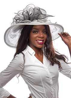 Secretariats Secret Organza Derby Hat with Ruffled Bow (Gray) Greatlookz Fashion http://www.amazon.com/dp/B00VGZEBAS/ref=cm_sw_r_pi_dp_A7Wkvb1AABHND