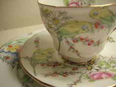 Paragon teacup + Royal Stafford Plate