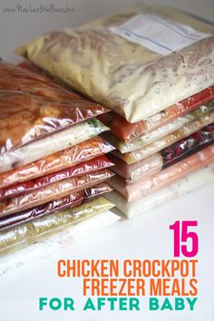 Before my fourth baby was born I decided to stock my freezer with 40 homemade freezer meals. I split the meals into three separate prep sessions so it really wasn't that hard to do. The third session