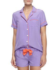 Belle Silk Short Pajamas