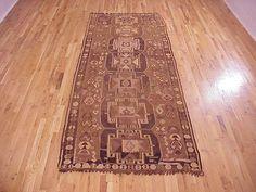 "Kilim & Flatweave 11' 8"" x 4' 6"" Vintage Kilim at Persian Gallery New York - Antique Decorative Carpets & Period Tapestries"