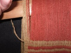 24 Textiles, Arrow Necklace, Weaving, Weaving Techniques, Wool Yarn, Weaving Looms, Tiny Little Houses, Tapestry Weaving, Crocheting