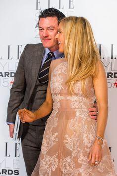 Elle Style Awards 2015 — VIP Arrivals, 24 Feb ‹ Luke Evans