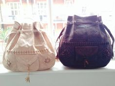 bee2fd575544 New beauties just arrived  3 Our Moroccan Wanderlust bag is now available  in cream   chocolate brown (yum!) in addition to tan brown.