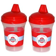 Ohio State University Baby Fanatic 2 Pack Spill-Proof Sippie Cups - Everything Buckeyes - OSU Fan Shop