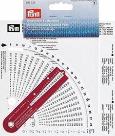 Stitch Counter Knitting Calculator and Counting Frame + Needle Thickness Knitting Gauge, Knitting Stitches, Knitting Needles, Knitting Patterns, Crochet Patterns, Diy Crafts Knitting, Crochet Projects, Sewing Crafts, Stitch Counter