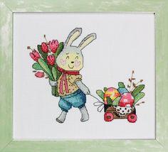 № 2 (37) март 2016  Милый зайчик, нарисованный Полиной Тарусовой и Антониной Щербиной, нарядился в свой лучший костюм и готовится отмечать Пасху. По легенде, для длинноухих озорников этот праздник – повод хорошенько повеселиться, например спрятать в укромных местах расписные яйца, которые будет искать малышня. Теперь понятно, куда отправился зайчик с тачкой, полной крашанок? Автор: Полина Тарусова.