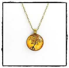 Retro Tree Necklaces   Mountain Back Outfitters