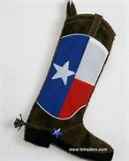 Image result for cowboy boot stocking