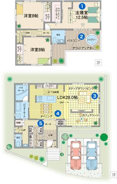 Japanese House, Japanese Style, Life Space, Floor Plants, House Layouts, Sims, House Plans, Flooring, How To Plan
