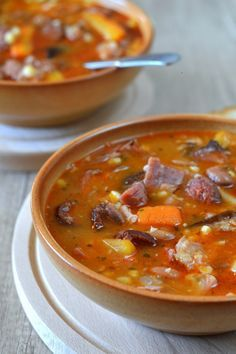 Jókai-bableves recept Hungarian Cuisine, Hungarian Recipes, Soup Recipes, Cooking Recipes, Eastern European Recipes, Hot Soup, Food 52, Quick Meals, Food And Drink