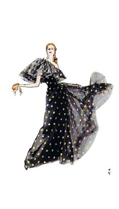 Chanel illustrated by Rene Gruau.