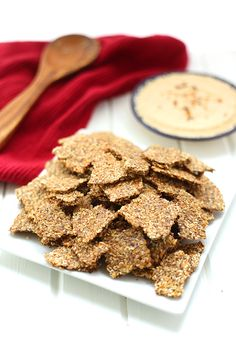 Get super charged with these Superseed Crackers, containing flaxseeds, sunflower seeds, sesame seeds and poppy seeds.