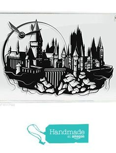 Harry Potter Hogwarts Castle and Golden Snitch - hand cut paper art from Art of…