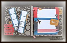 Just Crazy Blessed - CTMH Close to My Heart Artbooking Cricut Travel Mini Album using Pro Player #FreeCricutCollectioninApril Join my JUST CRAZY BLESSED CTMH TEAM!