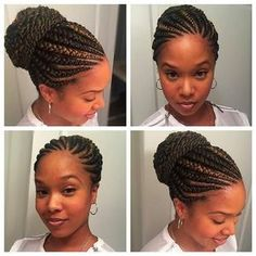 Ghana Braids Hairstyles Ghana Braidsghana Cornrowsbanana Cornrowsfeed In Cornrows