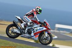 Second place for Davide Giugliano at Phillip Island !!   Drink your Passion!