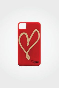 Fashion Accessories - Scarves & Women's Accessories by DVF New Iphone, Iphone 4s, Iphone Cases, 4s Cases, What Is Red, Heart Crafts, Free Ads, Apple Products, Ipad Case