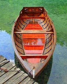 Boats Photograph - Croatian Rowboat by Ramona Johnston Row Row Your Boat, Living On A Boat, Canoe Boat, Wooden Boat Building, Boat Kits, Float Your Boat, Wood Boats, Boat Design, Small Boats