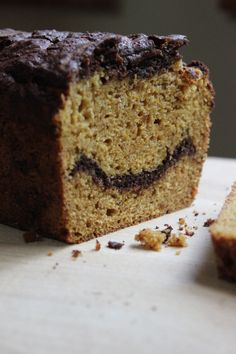 Pumpkin Chocolate Tea Bread