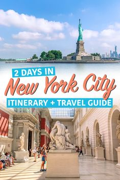 2 Days in New York City Got 48 hours in the Big Apple? Here's the perfect itinerary for 2 days in New York City New York Travel Guide, Usa Travel Guide, Dc Travel, Travel Tips, Travel Guides, Adventure Travel, Travel Destinations, New York City Vacation, New York City Travel