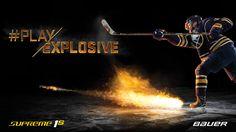 Nouvelles crosses Bauer Supreme 1S ! #PlayExplosive #BauerFrance #Supreme1S