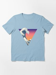 """""""Great Wave Aesthetic"""" T-shirt by ind3finite 