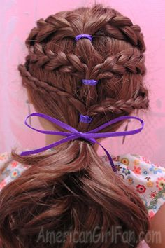 Hair Care and Styles - 6 Braids Style