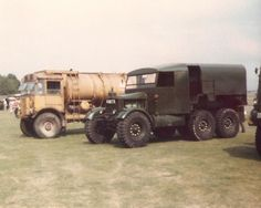 AEC Marshal/Matador and Scamell R100 refuelers