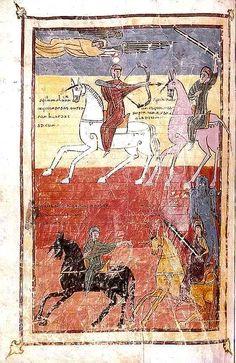 The Four Horsemen of the Apocalypse, Urgell Beatus Codex, Beatus of Liébana, Spain