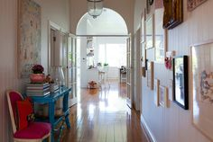 Lovely wide hallway