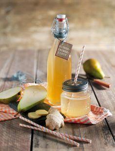 Birnen-Ingwer-Sirup (500ml) 450 g Birnen und 50 g Ingwer waschen, putzen und in grobe Würfel bzw. dünne Scheiben schneiden. 500 g abwiegen, mit 250 ml Wasser in einem Topf zum Kochen bringen und ca. 8–10 Min. ohne Deckel auf mittlerer Stufe köcheln lassen. Abkühlen lassen. Ausgekühlte Birnenmasse mit 500 g Diamant Sirupzucker verrühren, sodass sich der Zucker löst. Über Nacht abgedeckt bei Raumtemperatur stehen lassen. Danach durch ein Safttuch oder feines Sieb abseihen. Sirup in einem…