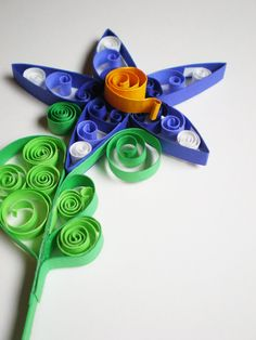 Spring is in the air- Quilled Paper Flower