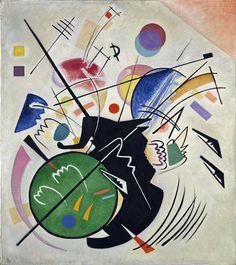 'Black Form' (1923) by Vasily Kandinsky