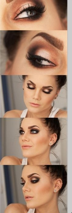Girls face whit mackeup i beauterful ❤