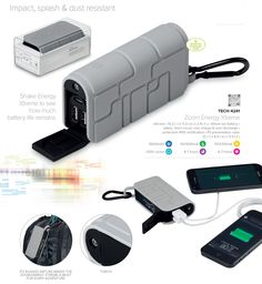 The Portable Charger - Corporate Gifts South Africa, mobile phone charger. Battery Safety, Branded Gifts, Latest Gadgets, Portable Charger, Gadget Gifts, Phone Charger, Corporate Gifts, Giveaways, South Africa