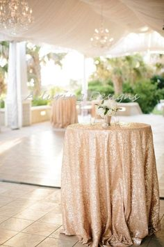 Champagne Sequin Linens Tablecloth Runner Overlay Wedding Event Party Anniversary Shower Bridal Reception Glitz Bling Decor Cake Sweetheart, Check more at. Mod Wedding, Wedding Events, Wedding Day, Party Events, Gothic Wedding, Glamorous Wedding, Wedding Dreams, Party Wedding, Elegant Wedding