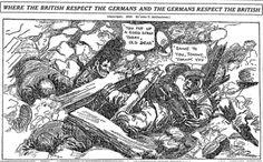 July 23 1916 - Chicago Tribune - Where the British respect the Germans and the Germans respect the British