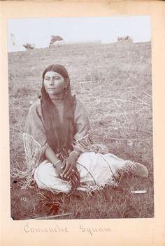 COMANCHE GIRL , 1899